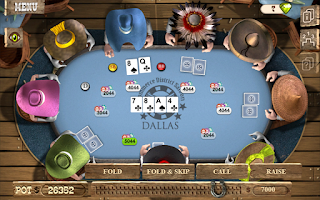 Screenshot of TEXAS HOLDEM POKER OFFLINE