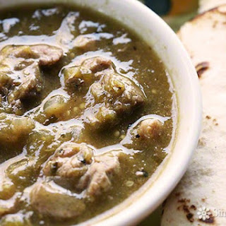 Roasted Tomatillos Chile Verde Recipes