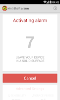 Screenshot of Anti Theft Alarm