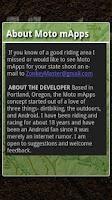 Screenshot of Moto mApps Washington FREE