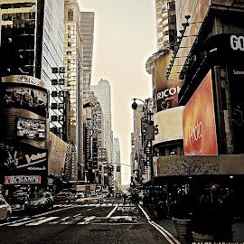 Energy street  by Silvia Mininni - City,  Street & Park  Street Scenes ( Urban, City, Lifestyle )