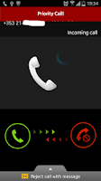 Screenshot of Priority Call