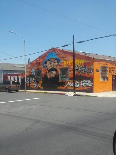 Battery Mural