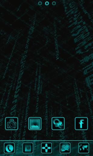 BLUE TECH GO Launcher EX