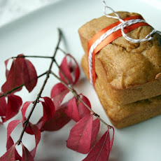 Miniature Pumpkin Breads