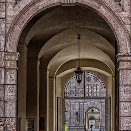 by Izzy Kapetanovic - Buildings & Architecture Other Exteriors ( munich, portal, germany, architecture, archway )