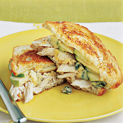 Chicken Sandwiches with Melted Cheese