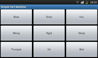 Screenshot of Simple Fart Machine