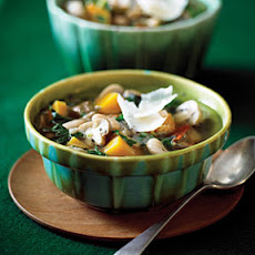 Wild Rice, Butternut Squash, and Cannellini Stew