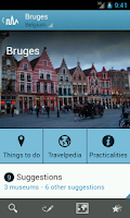 Screenshot of Belgium Travel Guide