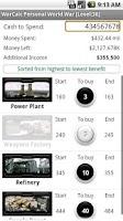 Screenshot of WarCalc Free Storm8 Calculator