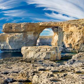 Malta Azure Window by Marcin Frąckiewicz - Landscapes Mountains & Hills ( mountain, malta, fjord,  )