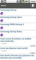 Screenshot of BBfoc 2.0 (Forums viewer)