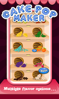 Screenshot of Cake Pop Maker - Cooking Fun