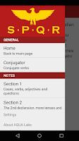 Screenshot of Learn Basic Latin