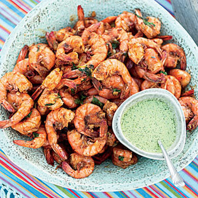 Curry-Spiced Shrimp