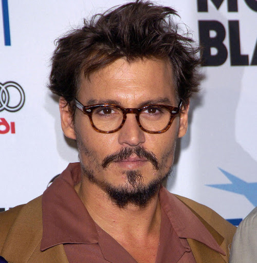 2e2b1336b1 Johnny Depp s glasses  an object of desire