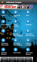 Screenshot of Halloween Sounds Free