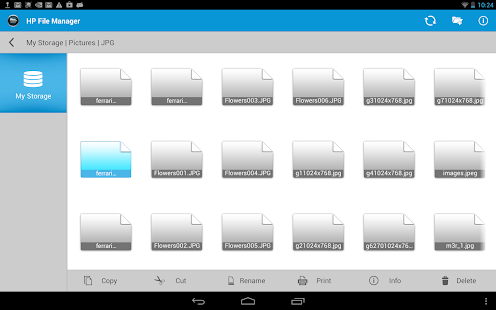 App HP File Manager APK for Windows Phone