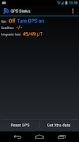 Screenshot of GPS Status Test & Fix - No Ads