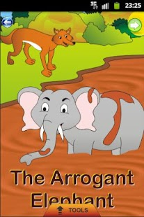 Arrogant Elephant - Kids Story - screenshot