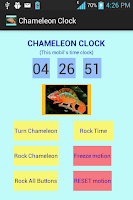Screenshot of Chameleon Clock