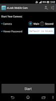 Screenshot of eLook Mobile Cam