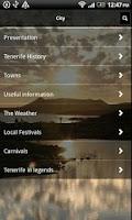 Screenshot of Tenerife Vacation Guide