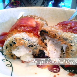 Stuffed Rolled Eggplant