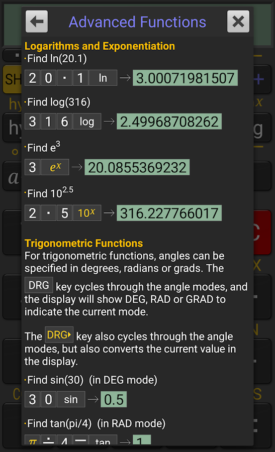RealCalc Plus Screenshot 4