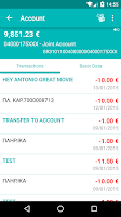 Screenshot of NBG Mobile Banking