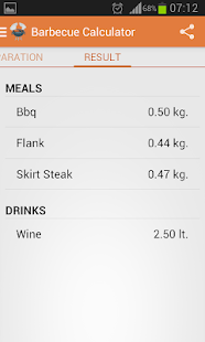 App Barbecue Calculator APK for Windows Phone