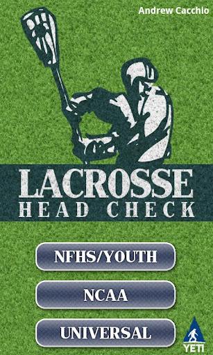 LAX Head Check