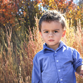 TK 2014 #4 by Stacey Cannon - Babies & Children Child Portraits ( fall, cute, handsome, boy, portrait )
