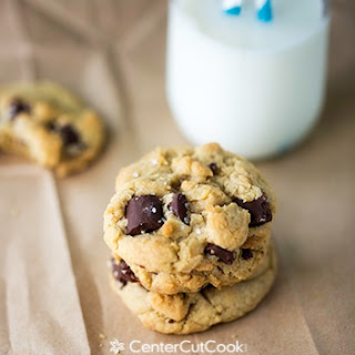 Salted Brown Butter Chocolate Chunk Cookies