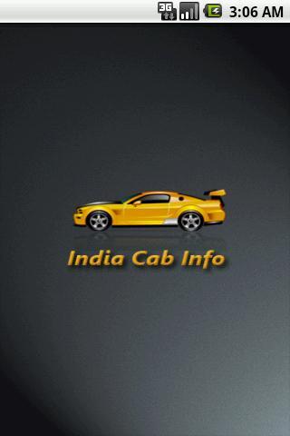 India Cab Info