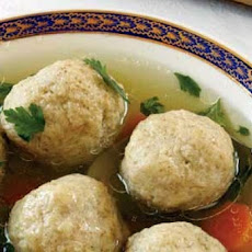 Chicken Soup with Matzoh Balls