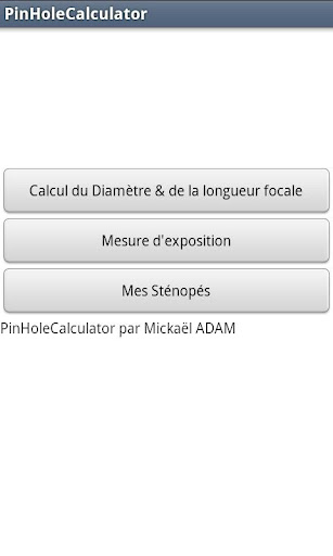 PinholeCalculator