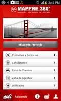 Screenshot of MAPFRE 360