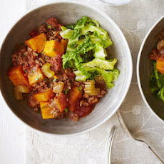 Minced Beef & Sweet Potato Stew