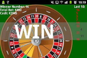 Screenshot of Las Vegas Roulette Online