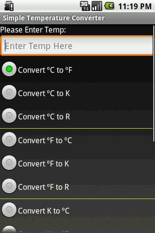 Simple Temp Convert Free