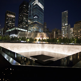 9/11 Memorial NYC by Todd Radney - Buildings & Architecture Statues & Monuments ( 9/11, memorial, america, fountain, new york, nyc, usa )