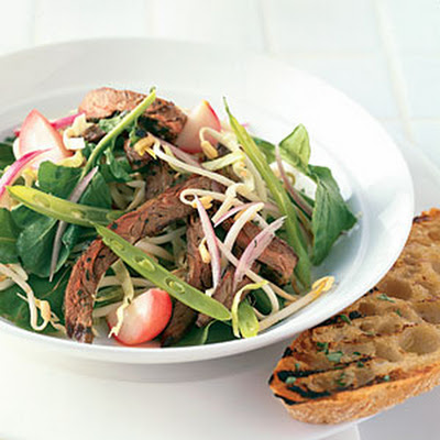 Summer Beef Salad with Cilantro