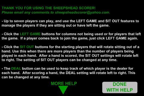 SheepsheScorer - screenshot