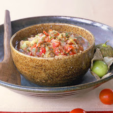 Smoked Tomato-and-Tomatillo Salsa