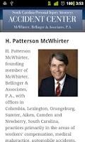 Screenshot of South Carolina PI - M.B.A. Law