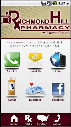 玩免費健康APP|下載Richmond Hill Pharmacy app不用錢|硬是要APP