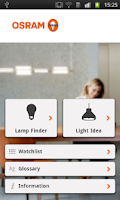 Screenshot of OSRAM Light Finder