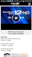 Screenshot of KWCH 12